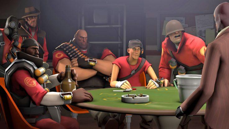 Тим фортрес 2 (Team fortress 2